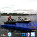 Pontoon for high bouyancy floating dock with motor factory directly sale in China