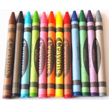 Pastel brilhante não tóxico de alta qualidade do óleo da cor usado no escritório & na escola