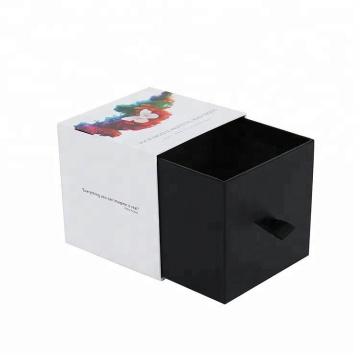 Pequeña caja de papel de empaquetado de la vela del estilo del pequeño cajón