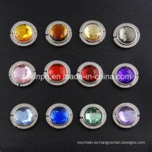 Suspensión del bolso elegante personalizado de alta calidad Rhinestones coloridos souvenirs regalos