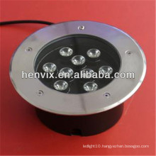 9w led underground light 12v for commercial use