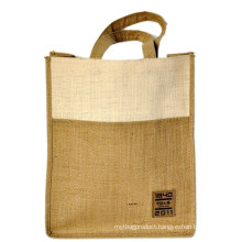 Double Color Thickened Edition Jute Bag (hbjh-43)