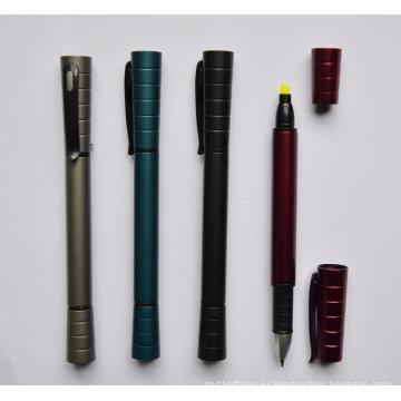 2 в 1 Промотирования Шариковая ручка с маркер Htf059