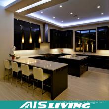 Armários de cozinha do estilo U do preço da fabricação mobília para o projeto (AIS-K351)