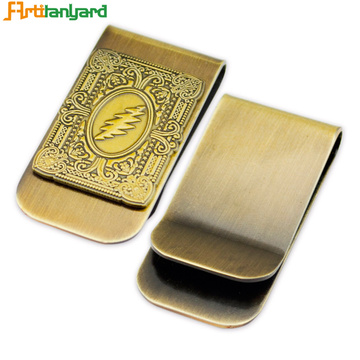 Metal Money Clip Card Holder