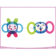 Baby Rattle Plastic Toys with Teether for Baby