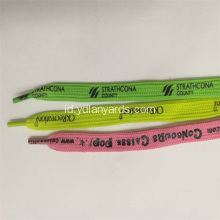 Good Quality Silk Screen Dicetak Shoelace