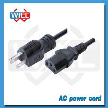 7/12 / 15A 125V japón pse cable de alimentación con 3 pin hembra