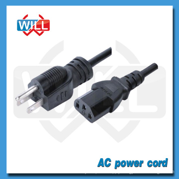 PSE approval Japan AC power cord for computer PC with C13 plug