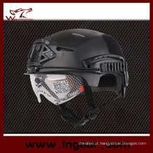 Emerson Exf Bump Windproof capacete com viseira clara Motor Cross capacete