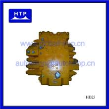 Válvula de control principal del motor del excavador para Hyundai R305-7