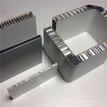 Paneles de aluminio con núcleo alveolar para techo