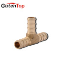GUTENTOP-LB High quality 3/4-in x 1/2-in x 3/4-in Dia Brass PEX Tee Crimp Fitting