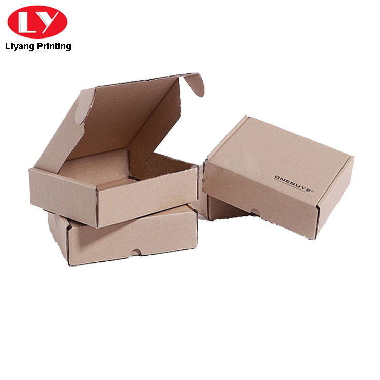 Kraft Corrugated Shipping Box