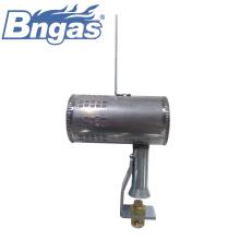 Quemadores de gas cortos de acero inoxidable con soporte