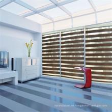 Persianas zebra de doble tonalidad para área residencial y comercial