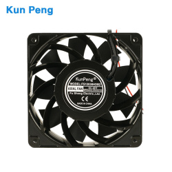 Freestanding mounting 48volt brushless axial fan