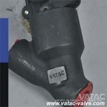 "Y Typ 150lb / 800lb 2 ""geschmiedetes Stahlkugelventil"