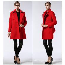 Factory Wholesale Autumn Europe Fashion Women′s Coat