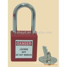С ключом подобный, длинный скоба ABS безопасности замка