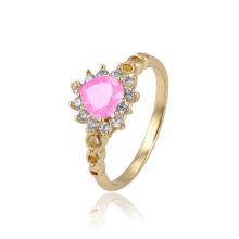 15285 xuping ring schmuck gold ringe design für frauen ring