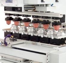 6 Color Sealed Ink Cups Pad Printer