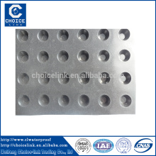 Placa de drenagem de HDPE impermeabilização para campo de futebol artificial