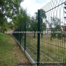 Malla de alambre recubierta de PVC Color de cercado RAL 6005 Verde
