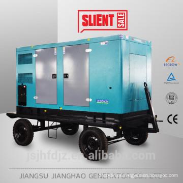 El remolque del mejor precio, móvil, generador eléctrico diesel insonoro del generador 40kva 32kw móvil