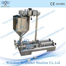 Machine de remplissage d'eau douce semi-automatique pneumatique en acier inoxydable pneumatique