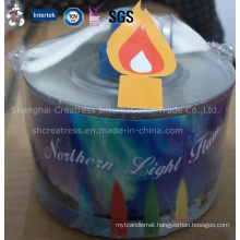 Magic Colored Flame Jar Candle