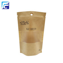 Good Quality for Kraft Paper Bag With Window 2017 Brown Kraft Reusable Snack Bag export to Germany Importers