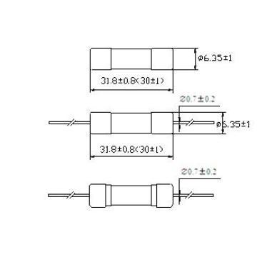 Hbc Tube Fuse быстродействующий 6.3 X 30 mm