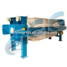Système de presse de filtre d'asséchage de boue d'usine de traitement des eaux usées de filtre de Leo, presse-filtre d'asséchage des eaux usées
