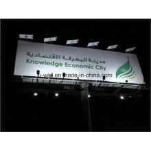 Billboard et bâtiment ont employé la lumière d'inondation solaire de LED Uw-U60W