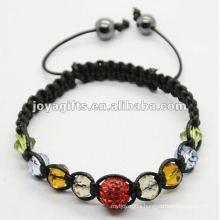 woven pearl beaded bracelet,woven bangle