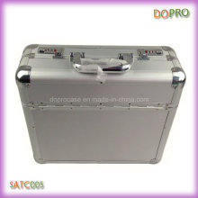 Silver ABS Surface Handle Aluminum Combination Lock Document Cases (SATC005)