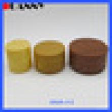 50ML BAMBOO DOUBLE WALL PLASTIC COSMETIC JARS, BAMBOO COSMETIC JARS 50ML