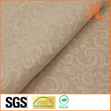 Polyester Brown Print Wide Width Inherently Fire Retardant Fireproof Curtain