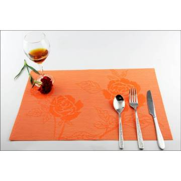 coffee shop of PVC placemats cushion