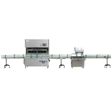 CE Standard liquid filling capping and labeling production line