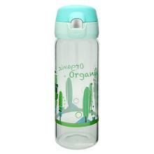 One-Touch-offenen Glas-Trinkflasche