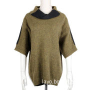 Women's pullover sweater, half sleeves