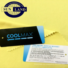 Ropa deportiva de fútbol Ropa de poliéster transpirable ojal coolmax