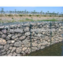 gabion cage river bank protection/ Flood control stone nets