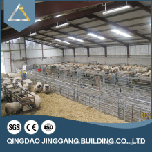 CE certificated prefabricated steel structure poultry farming