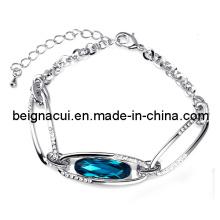 Sw Elements Cristal Indicolite Cor Especial árabe Bridal Pulseira Jóias