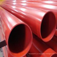 Preço de fábrica ASTM A795 Tubo de aço Sch10 / 40 para Spriinkler Fire Fighting System