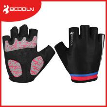 Bequeme Anti-Rutsch-Fahrrad-Handschuhe Radfahren Reiten Sport Half Finger Handschuhe