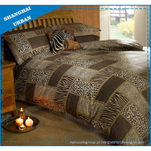 Animal Imprime Patchwork Design Poliéster Duvet Cover Bedding